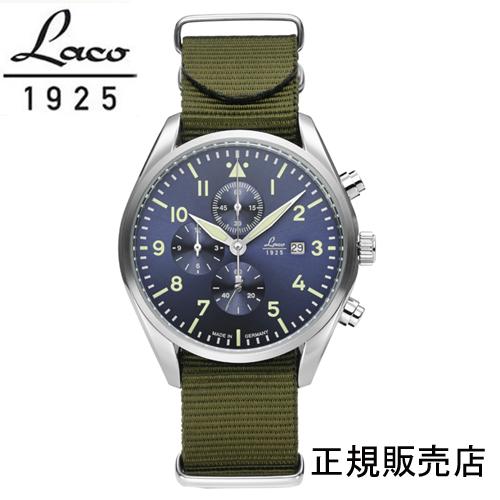 ラコ LACO 861919BK アトランタ 42mm クォーツ クロノグラフ 国内正規品