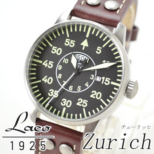(あす楽)ラコ Laco 腕時計 861806 パイロット クオーツ シリーズ Zurich チューリッヒ メンズ【新品】