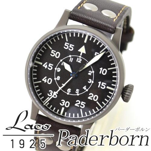 ラコ Laco 腕時計 861749 パイロットウオッチ Laco24系自動巻シリーズ Padeborn バーダーボルン メンズ【楽ギフ_のし】【楽ギフ_メッセ入力】【楽ギフ_名入れ】【新品】fs04gm【marathon0802_500】