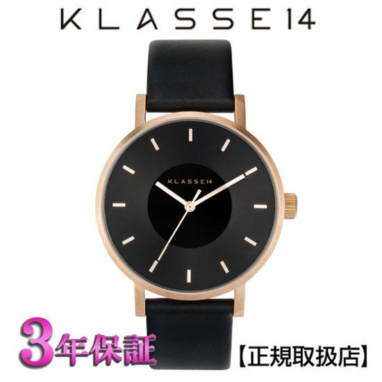 [クラス14]KLASSE14  腕時計 VO16RG005W  DARKROSE 36mm MARIO NOBILE VOLARE ブラック文字盤 ユニセックス【正規輸入品】【楽ギフ_のし】【楽ギフ_メッセ入力】