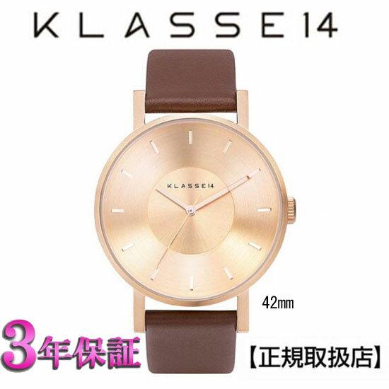 (あす楽)[クラス14]KLASSE14 腕時計 MARIO NOBILE VOLARE ROSE-GOLD/BROWN VO14RG002M 42mm【正規輸入品】 【楽ギフ_のし】【クリスマスプレゼント】