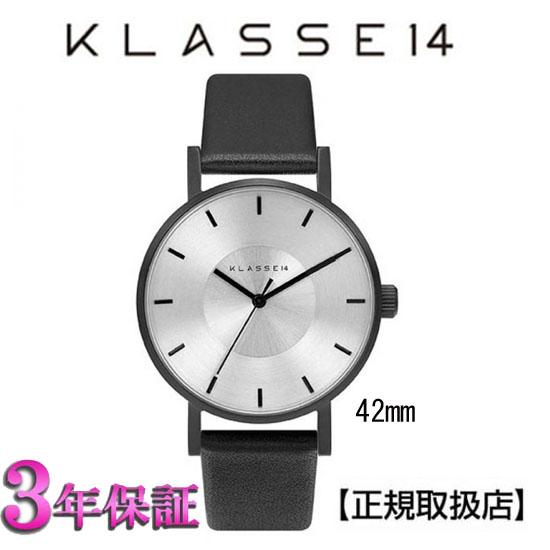 (あす楽)[クラス14]KLASSE14 腕時計 Volare VO14BK001M BLACK/SILVER 42mm【正規輸入品】 【楽ギフ_のし】【楽ギフ_メッセ入力】
