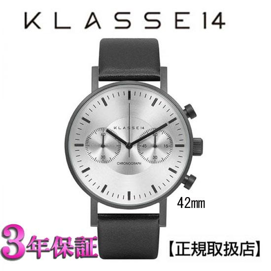 [クラス14]KLASSE14 腕時計 VO15CH003M  VOLARE CHRONOGRAPH DARK 42mm 【正規輸入品】 【楽ギフ_のし】【楽ギフ_メッセ入力】