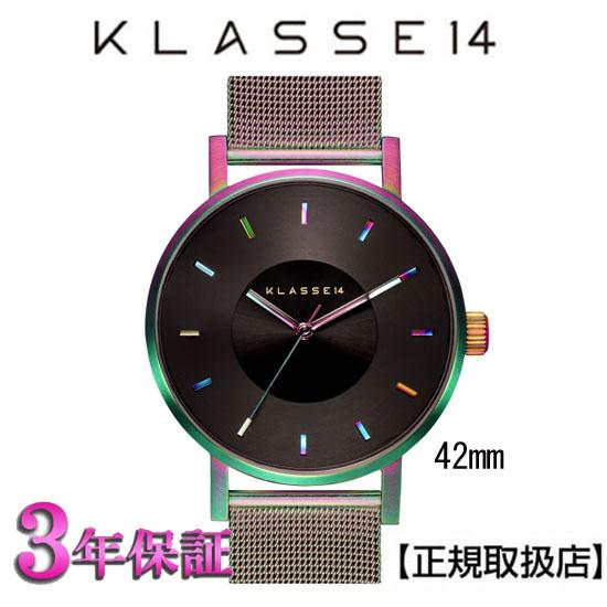 [クラス14]KLASSE14 腕時計 VO15TI002M ユニセックス VOLARE RAINBOW/MESH 42mm MARIO NOBILE 【正規輸入品】【楽ギフ_のし】【楽ギフ_メッセ入力】