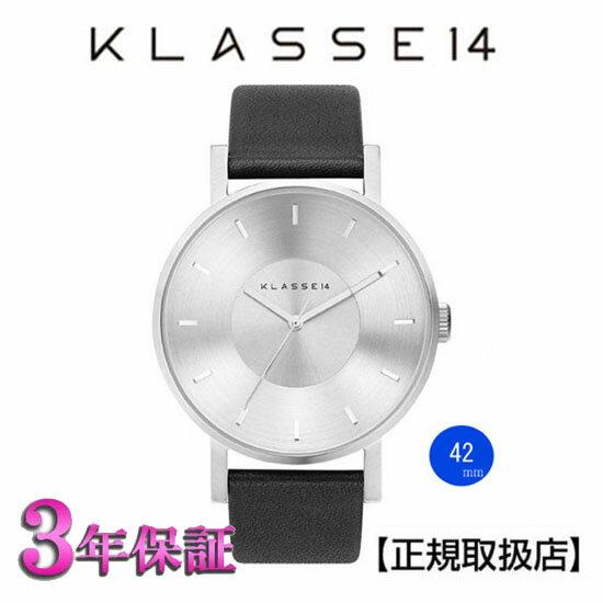 [クラス14]KLASSE14 腕時計 Volare VO14SR001M SILVER 42mm【正規輸入品】 【楽ギフ_のし】【クリスマスプレゼント】