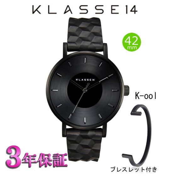 [クラス14]KLASSE14 腕時計 VOLARE K-OOL 42mm ボラレ クール (ブレスレット付き) メンズ レディース KO17BK002M [正規輸入品] 【楽ギフ_のし】【楽ギフ_メッセ入力】