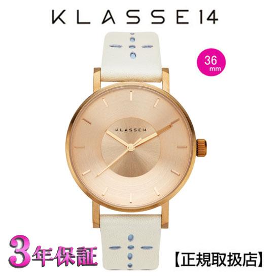 クラス14  KLASSE14 腕時計 VO17IR033W MISS VOLARE 2017SS 36mm ROSE GOLD LIGHT GREY/BABY BLUE【正規輸入品】