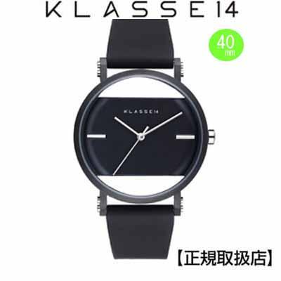 (あす楽)クラス14 KLASSE14 腕時計 JT(Jane Tang)×KLASSE14 imperfect arch Black Perfectly IM18BK006M (一部透過) 40mm 替えベルト付き【正規輸入品】 クリスマス1番人気!!【楽ギフ_のし】【楽ギフ_メッセ入力】