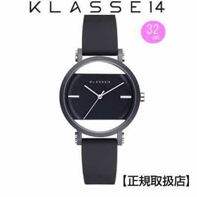 (あす楽)クラス14 KLASSE14 腕時計 KLASSE14 imperfect arch Black Perfectly IM18BK006W レディ (一部透過) 32mm 替えベルト付き 【正規輸入品】 【楽ギフ_のし】【クリスマスプレゼント】
