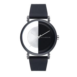 (あす楽)[クラス14]KLASSE14 腕時計 Imperfect Black Arch IP Black Case 40mm ブラックダイヤル (一部透過) IM18BK007M 替えベルト付き【正規輸入品】 【楽ギフ_包装】【楽ギフ_のし】【楽ギフ_のし宛書】【クリスマスプレゼント人気No1モデル】