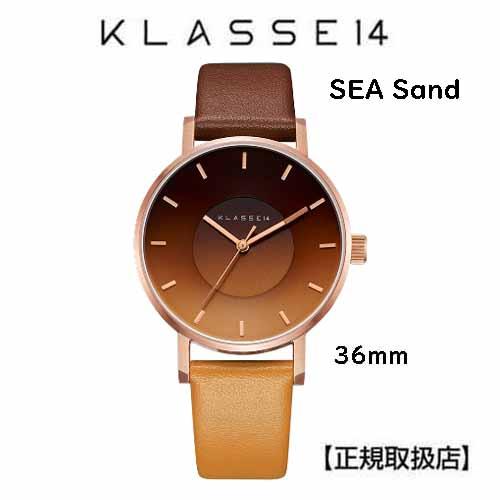 クラス14 シー サンド 腕時計 SEA Sand 36MM SE18RG002W  36mm 本革 ユニセックス [正規輸入品] (Unisex)【交換ベルト付き】【クリスマスプレゼント】