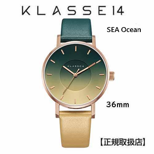 (あす楽)クラス14 Sea Oceanシー オーシャン 腕時計 36MM SE18RG003W  36mm 本革 ユニセックス [正規輸入品] (Unisex)【交換ベルト付き】【クリスマスプレゼント】【送料無料】