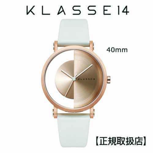 (あす楽)[クラス14]KLASSE14 腕時計 Imperfect Gold  Arch Rose Gold 40mm ゴールドダイヤル (一部透過) IM18RG013M  クリスマス1番人気!!【正規輸入品】 【楽ギフ_のし】