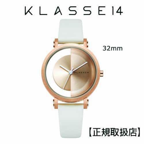 (あすらく)[クラス14]KLASSE14 腕時計 Imperfect Gold  Arch Rose Gold 32mm ゴールドダイヤル (一部透過) IM18RG013W 替えベルト付き【正規輸入品】クリスマス1番人気!! 【クリスマスプレゼント】