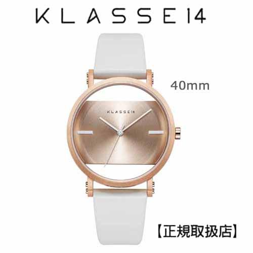 クラス14 KLASSE14 腕時計 Imperfect Gold  Arch Rose Gold 40mm ゴールドダイヤル (一部透過) IM18RG012M  プレゼント1番人気!!【正規輸入品】 【楽ギフ_のし】