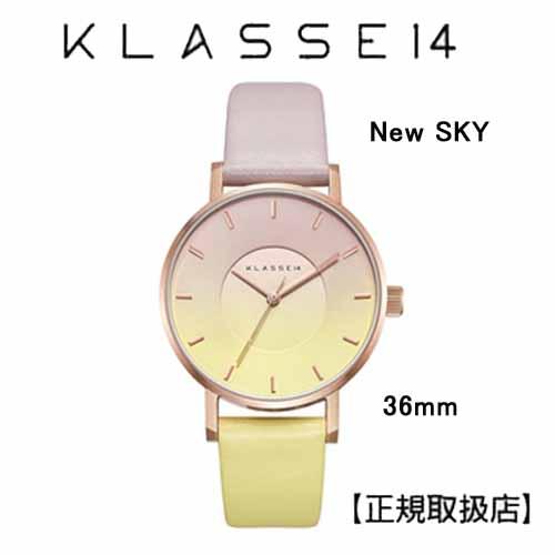 クラス14 New SKY ニュー スカイ 腕時計 36MM  WSK19RG004W 36mm 本革 ユニセックス [正規輸入品] (Unisex)イタリアン製レザーベルト【プレゼント】【送料無料】
