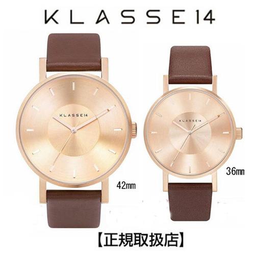 (あす楽)[クラス14]KLASSE14 腕時計 MARIO NOBILE VOLARE ROSE-GOLD/BROWN VO14RG002M 42mmVO14RG002W 36mm【正規輸入品】 【楽ギフ_のし】【プレゼントギフト】