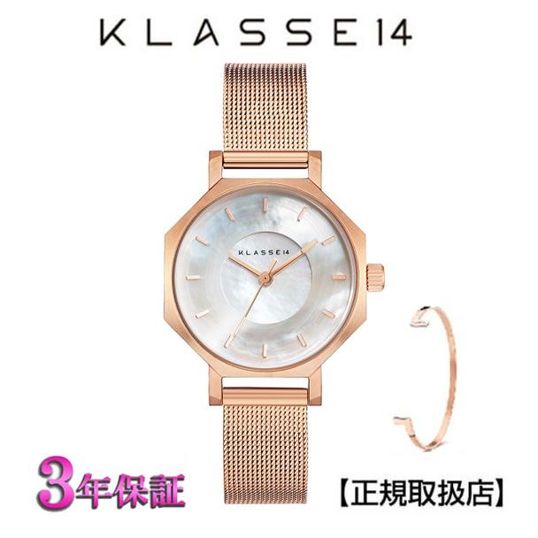 (あす楽)KLASSE14(クラス14) 腕時計 OKTO ROSEGOLD MESH 28mm [ブレスレット付き] ローズゴールド メッシュ メンズ レディース WOK19RG008S [正規輸入品] 【楽ギフ_のし】【クリスマスプレゼント】