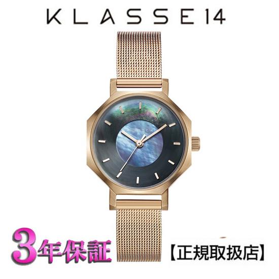(あす楽)KLASSE14(クラス14) 腕時計 OKTO ROSEGOLD MESH 28mm [ブレスレット付き] ローズゴールド メッシュ メンズ レディース WOK19RG010S [正規輸入品] 【楽ギフ_のし】【クリスマスプレゼント】