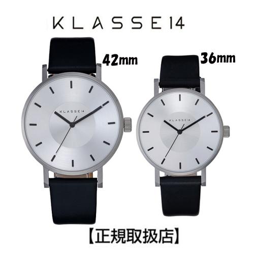[クラス14] KLASSE14 ペア腕時計 Volare Silver Black 42mm WVO19SR004M WVO19SR004W【正規輸入品】 【楽ギフ_のし】【クリスマスプレゼント】