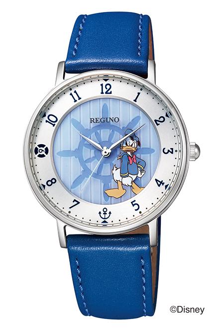 シチズン 腕時計 REGUNO レグノ ソーラーテック Disneyコレクション KP3-112-10