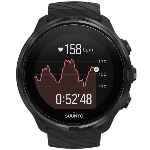 (あす楽)国内正規品【限定モデル】スント 9 Suunto 9 G1 All Black 50mmサイズ SS050257000 オールブラック GPS駆動時間最大120時間【送料無料】【3年保証付】【アウトドア】【トレイルラン】【ウルトラマラソン】【気圧計は搭載されていません】