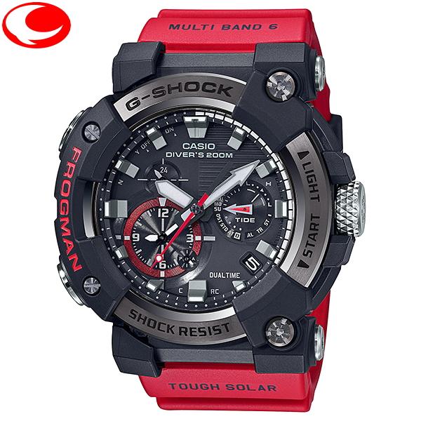 (あす楽)カシオ CASIO G-SHOCK GWF-A1000-1A4JF FROGMAN(フロッグマン) アナログ表示 タフソーラー電波 腕時計 MASTER OF Gシリーズ【送料無料】【20年6月19日発売モデル】