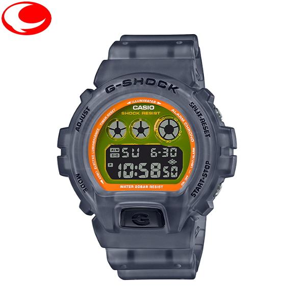 (あす楽)【20年7月30日発売】カシオ CASIO G-SHOCK DW-6900LS-1JF メンズ ユニセックス 腕時計 カラースケルトンシリーズ【楽ギフ_メッセ入力】【送料無料】