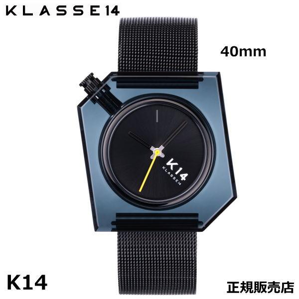 クラス14 Klasse14 K14 IRREGULARLY SQUARE Dark with Mesh Strap 40mm WKF20BK001M 腕時計 【正規輸入品】 【楽ギフ_のし】【ホワイトデイ】