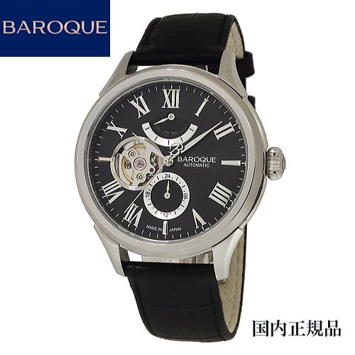 (あす楽)バロック(BAROQUE)腕時計 BA3003S-02B 41mm メンズ 自動巻き セイコーエプソンYN84搭載 限定100本のみ製造 [正規輸入品]【楽ギフ_のし】【楽ギフ_メッセ入力】【楽ギフ_名入れ】