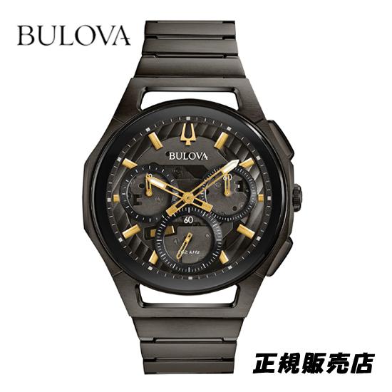(あす楽)[ブローバ]BULOVA 腕時計 メンズ カーブ CURV クロノグラフ 98A206 [正規輸入品] (正規3年保証)※サマーキャンペーン無くなり次第終了