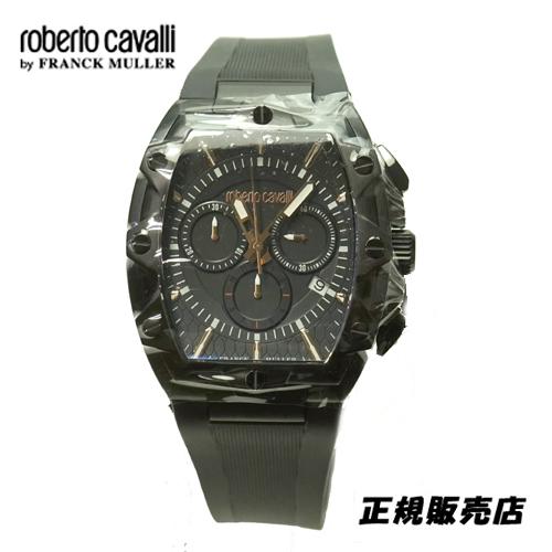 (あす楽)ロベルトカヴァリ バイ フランクミュラー クロノグラフ 腕時計 RV1G082P0021【送料無料】【父の日】【プレゼント】【ギフト】【包装】