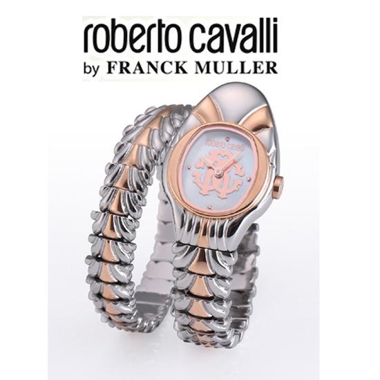 (あす楽)ロベルトカヴァリ バイ フランクミュラー ピンクゴールド レディス RV1L115M0071 【送料無料】【母の日】【プレゼント】【ギフト】【包装】