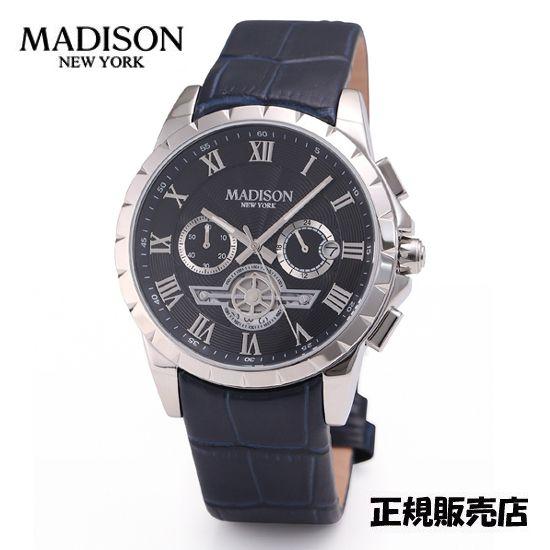 マディソン ニューヨーク 腕時計 MA011002-3  MADISON NEWYORK 【送料無料】