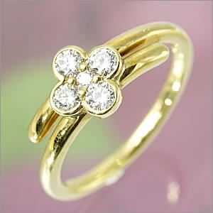 【限定1本】 K18 ダイヤモンドリング トータル0.32ct FR-1755【送料無料】【包装】【ギフト】【クリスマス】10P04Jun19