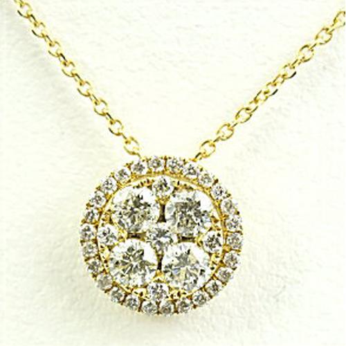 (あす楽) 【限定1本】K18 ダイヤモンドネックレス トータル0.44ct FR-1124【送料無料】【クリスマス】【ギフト】【包装】10P04Jun19