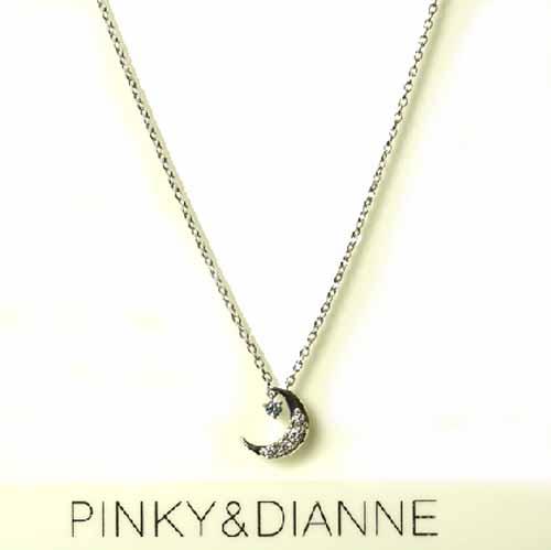 (あす楽) PINKY & DIANNE Dancing ピンキー&ダイアン ネックレス シルバー キュービック SV 51605【送料無料】