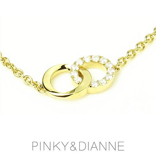 (あす楽)PINKY & DIANNE チェーンブレスレット シャープライン 53215