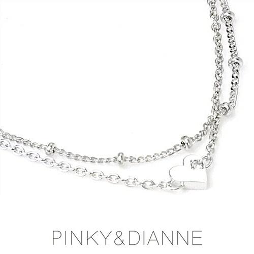 (あす楽)PINKY & DIANNE ブレスレット&アンクレット ディアルチェーン 53217