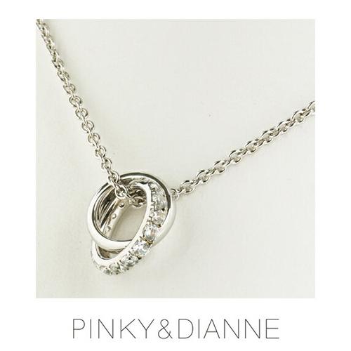 PINKY & DIANNE Silver ピンキー&ダイアン シルバー ネックレス キュービック SV(ロジウムメッキ)VPCPD51531【送料無料】