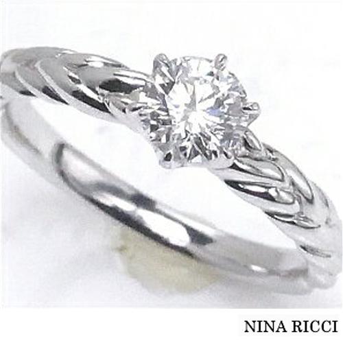 【限定1本】NINA RICCI ニナリッチ Pt ダイヤモンドリング [婚約指輪0.50ct]プラチナ エンゲージリング F-VS1-EX サイズ12号 ±3号までサイズ直し可能10P04Jun19【送料無料】【ギフト】【ネーム刻印無料】【FR-422】¥682,000