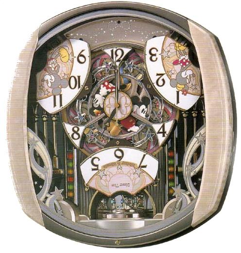 Seiko wall clock Disney time Gizmo FW563A ¥ 75600-