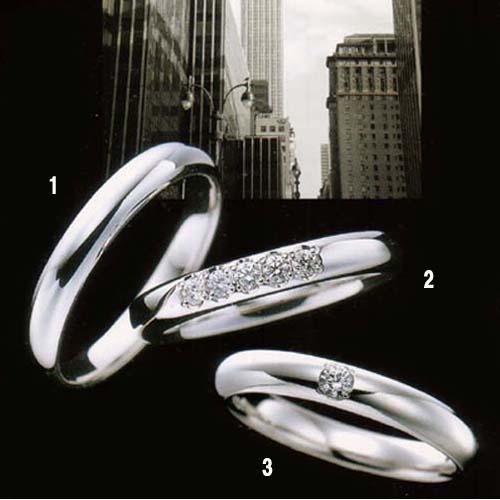 ラザール ダイヤモンド 結婚指輪・マリッジリング・(プラチナ) ダイヤ入り 写真3 URB801 【オーダー/納期4週間】【送料無料】【10P04Jun19】\140,400