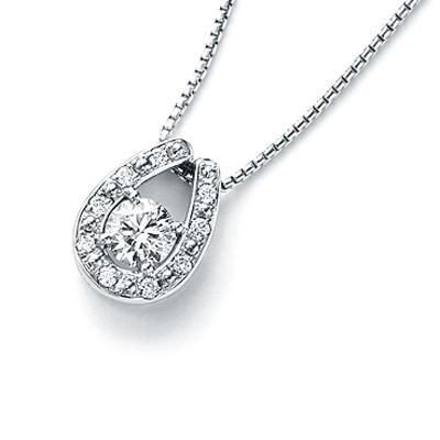 サンクスデイズ・プラチナ (雑誌広告商品) Thanks Days Platinum ダイヤモンドペンダント 0.30ctup 0.10ct (正規品) 【楽ギフ_のし】【メッセ入力】【送料無料】10P03Sep16