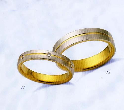 LANVIN (ランバン 指輪) La vie en bleu 結婚指輪 マリッジ リング  コンビダイヤモンド入り(左側) 【楽ギフ_のし】【楽ギフ_メッセ入力】【楽ギフ_名入れ】【smtb-kd】【送料無料】05P04Jun19