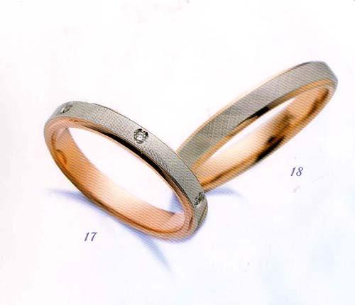 LANVIN (ランバン リング) La vie en bleu 結婚指輪 マリッジ リング  PGダイヤモンド入り(左側) \113.400 【smtb-kd】【送料無料】【楽ギフ_名入れ】【楽ギフ_メッセ入力】05P04Jun19