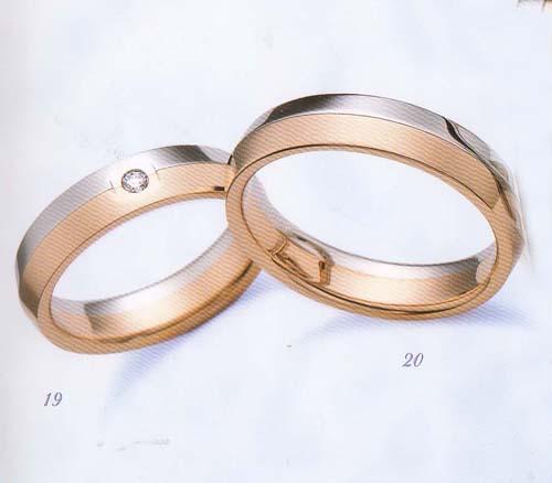 LANVIN (ランバン指輪) La vie en bleu 結婚指輪 マリッジ リング  PGダイヤモンド入り(左側)【smtb-kd】【送料無料】【名入れ】【のし宛書】【包装】【メッセ入力】【オーダー品納期約1ヶ月】