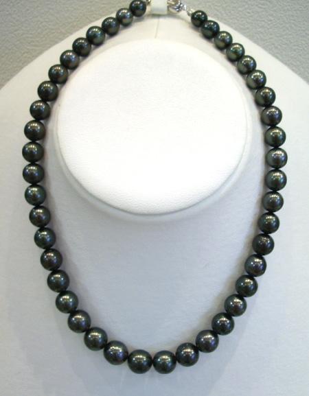 タヒチ黒真珠 ネックレス【楽ギフ_のし】【楽ギフ_メッセ入力】