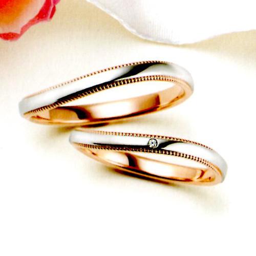マリ・エ・マリ  結婚リング [マリッジ] Marie et Marie (ペア2本分) MCPMM-14 MCPMM-114 05P18Jun16【送料無料】\136,080