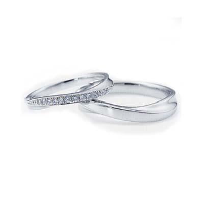 NINA RICCI ニナリッチ マリッジリング [結婚指輪]2本分 ダイヤモンド入り 6RB0003-6RA0003【オーダー品納期約1ヶ月】【最安値挑戦】【送料無料】【05P03Sep16】\313,200